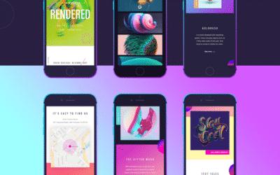 Top 5 Tendances Webdesign 2019 !