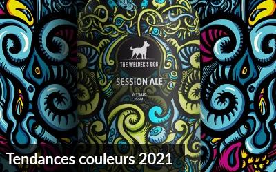 Tendances couleurs 2021