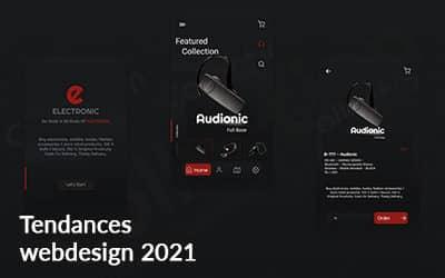 Tendances webdesign 2021